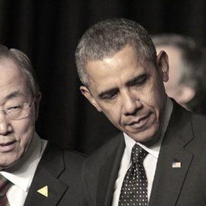 Ban ki-Moon, Obama