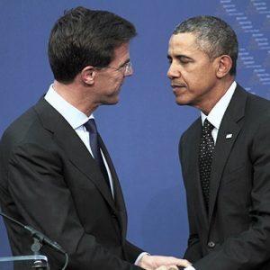 Rutte- Obama