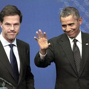 Rutte, Obama