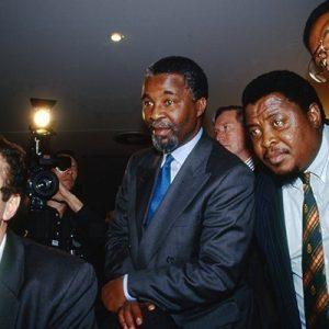Thambo M.Mbeki President ANC