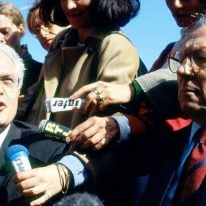Jacques Delors (President EC), Lionel Jospin (Premier France)