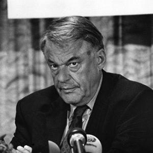 Hans van Mierlo, Founder D66, NL